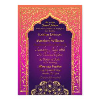 Noches árabes de Bollywood que casan la invitación
