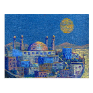 Noches árabes postal