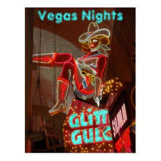 Noches céntricas de Las Vegas Postal