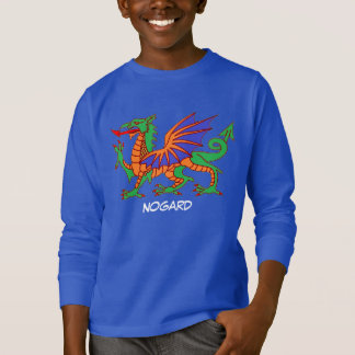 Nogard el dragón camiseta