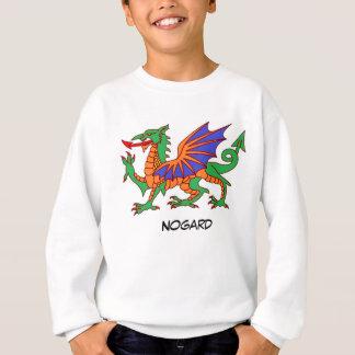 Nogard el dragón sudadera