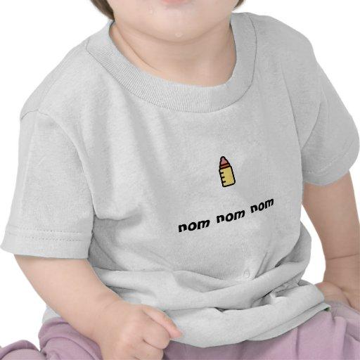nom del nom del nom camisetas