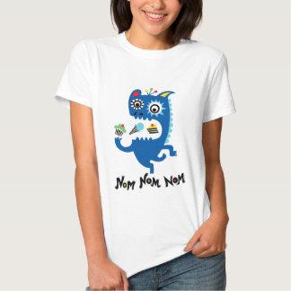 Nom Nom Nom Camisetas