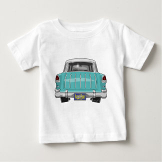 Nómada 1955 de Chevy Camiseta De Bebé