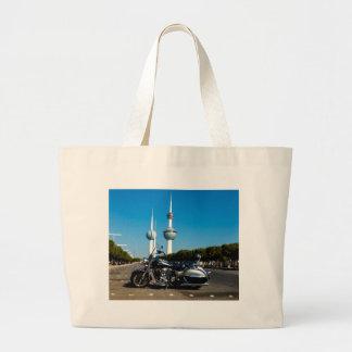 Nómada de Kawazaki en las torres de Kuwait Bolsa Lienzo