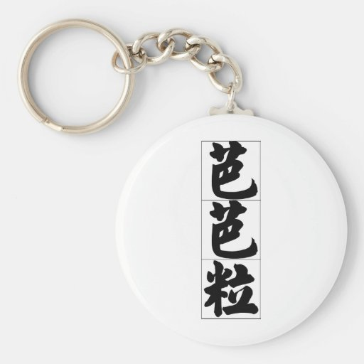 Nombre chino para Barbara 20031_4.pdf Llaveros Personalizados