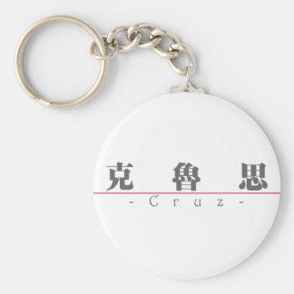Nombre chino para Cruz 22299_3 pdf Llavero Personalizado