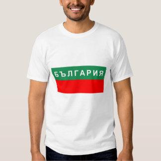 nombre cirílico ruso del texto del país de la camisas