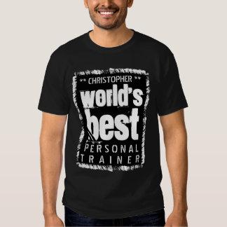 Nombre de encargo A01A del mejor INSTRUCTOR Camisetas