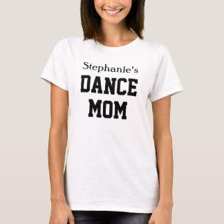 Nombre de encargo de la hija del color de la mamá camiseta