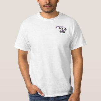 Nombre de encargo - golfista del disco - amarillo camiseta