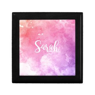 Nombre de Sarah Caja De Regalo