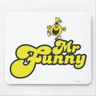 Nombre de Sr. Funny Dancing On His Alfombrilla De Ratón