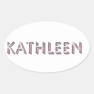 Nombre del pegatina de Kathleen