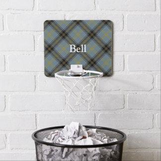 Nombre del personalizar del tartán de Bell del Mini Tablero De Baloncesto