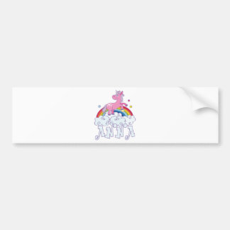 Nombre del unicornio de Ana Pegatina Para Coche