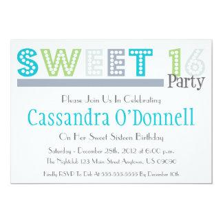 Nombre en las invitaciones del fiesta del dulce 16