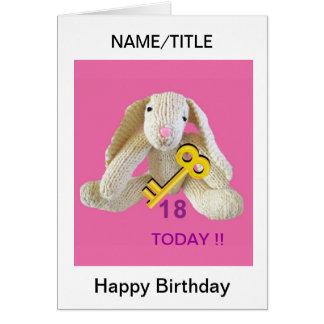 Nombre etc. de la hija de la tarjeta de cumpleaños