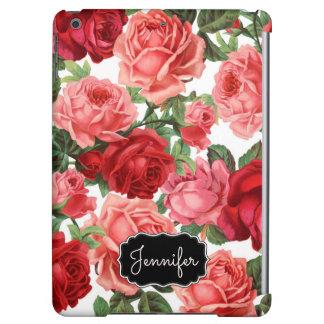 Nombre floral de los rosas rosados elegantes