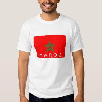 nombre francés del texto del país de la bandera camisas