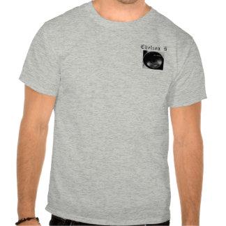 Nombre gris de la camiseta de Chelsea H, logotipo