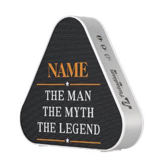Nombre personalizado el hombre el mito la leyenda altavoz