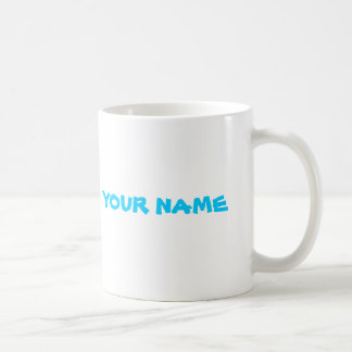 Nombre personalizado taza de café
