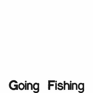 Nombre su camisa bordada de la pesca de la camisa