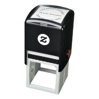 Nombre y dirección simple sello automático