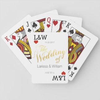 nombres de los pares, celebración del amor, barajas de cartas