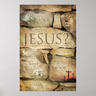 NOMBRES del JESUCRISTO - posters cristianos del