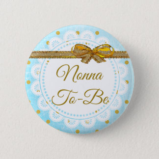 Nonna a ser botón del azul y del oro de la fiesta