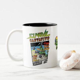 Nopal Cantavivo, taza mexicana preciosa del EL de