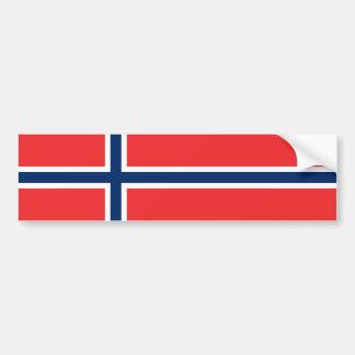 Noruega/bandera noruega pegatina para coche