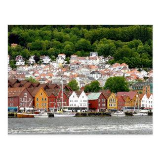Noruega - fotografía del paisaje postal