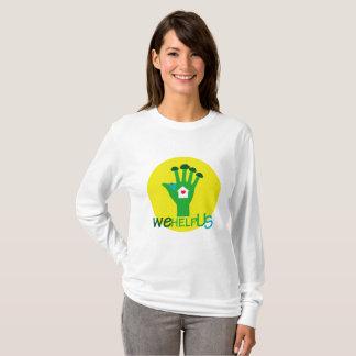 nos ayudamos camiseta