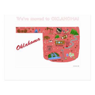 Nos hemos trasladado a la postal de Oklahoma