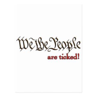 ¡Nos la gente… hacen tictac! Postal