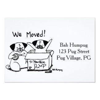 ¡Nos movimos! Invitación 12,7 X 17,8 Cm