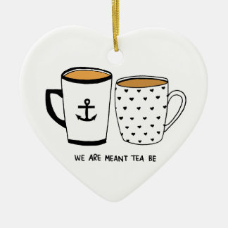 Nos significan que sea el té adorno de cerámica