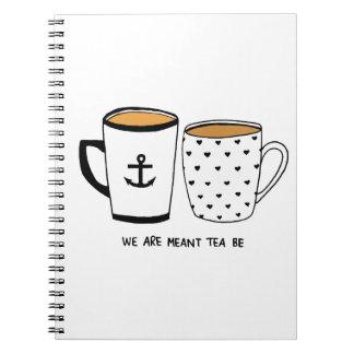 Nos significan que sea el té cuaderno