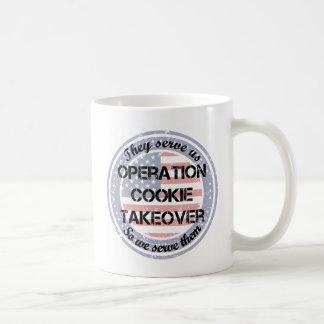 Nos sirven la taza de café