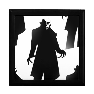 nosferatu de Halloween Caja De Regalo