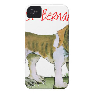 nosotros bernards del st del luv de Tony Fernandes Carcasa Para iPhone 4 De Case-Mate