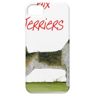 nosotros fox terrier del luv de Tony Fernandes Funda Para iPhone SE/5/5s