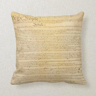 Nosotros la almohada de la constitución de la