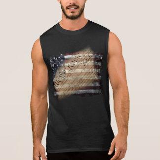 Nosotros la camisa sin mangas de la bandera de los