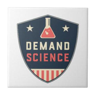 Nosotros la ciencia de la demanda de la gente en azulejo cuadrado pequeño