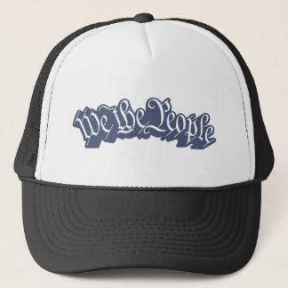 Nosotros la gente (azul) gorra de camionero