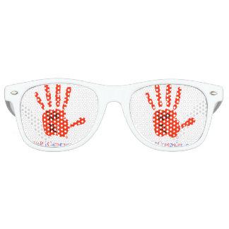 Nosotros (mano roja) gafas de sol R1